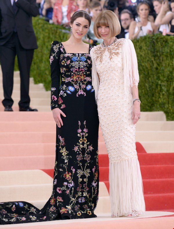 Anna Wintour and her daughter Bee Shaffer
