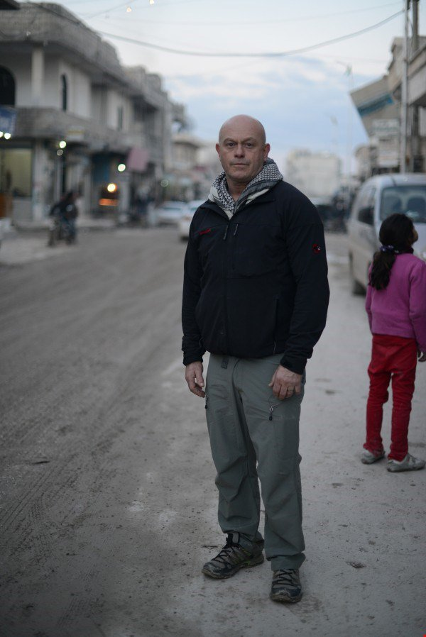 Ross Kemp in Syria