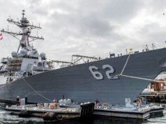 USS Fitzgerald Navy Ship
