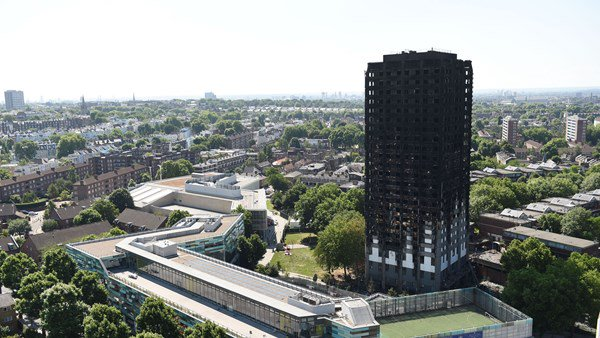 Grenfell Tower, London, Report, Natasha Elcock, Caroline Featherstone