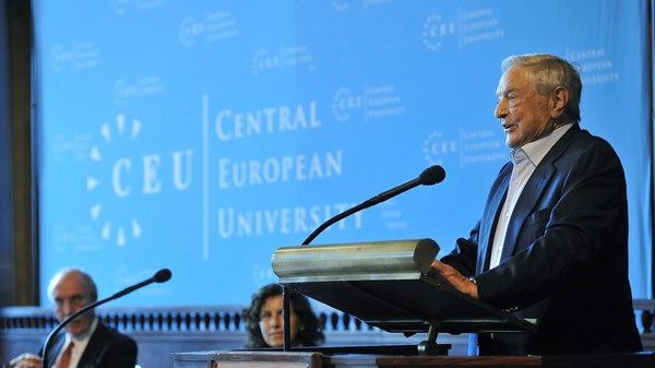 George Soros, Central European University, Hungary