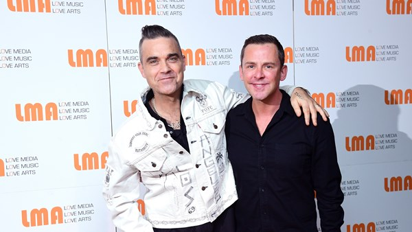 Robbie Williams, Hugh Jackman, Ayda Field, X Factor, LMA Choir
