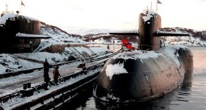 Russian Navy Research Vessel found in Barents Sea.