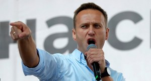 Alexei Navalny detained in Russia.