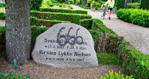 Danish police arrest 100 for violating gravestones.