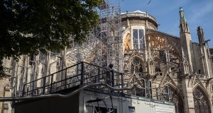Notre Dame Cathedral exposed to heatwave can cause damage to interior designs.