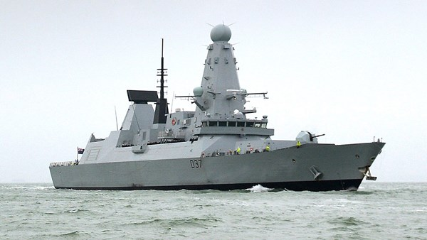 British Navy circulates the seas; joins US in protecting shipping.