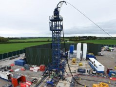 Fracking site has tremor that hit 2.1 on the Richter Scale