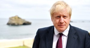 Boris Johnson in Biarritz for the G7 Summit