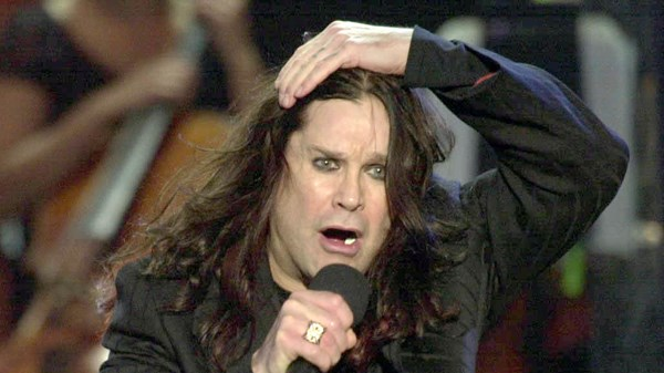 Ozzy Osbourne suffers injury in bike accident