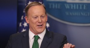 Sean Spicer is seen on Dancing with the Stars