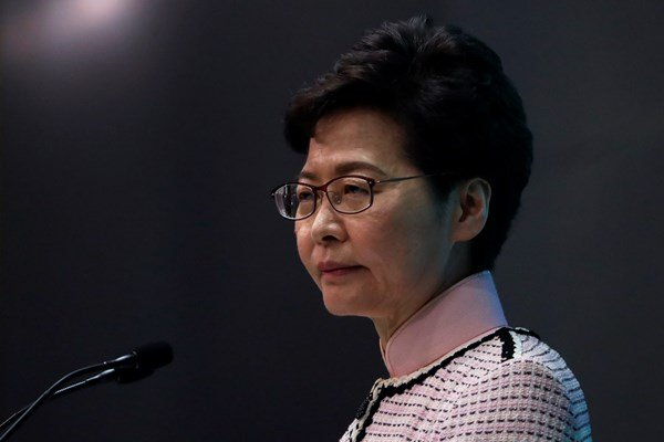 Carrie Lam says new US president should not interfere in Hong Kong