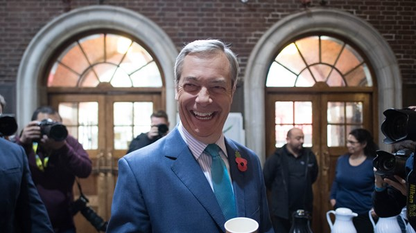 Nigel Farage, Brexit Party