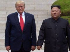 North Korean president Kim Jong Un, and US president Donald Trump