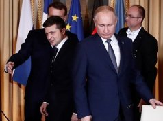 Vladimir Putin and Ukrainian president agree on peace treaty