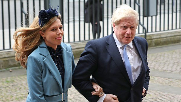 Carrie Symonds, Boris Johnson