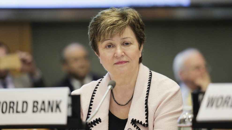 Kristalina Georgieva of the International Monetary Fund