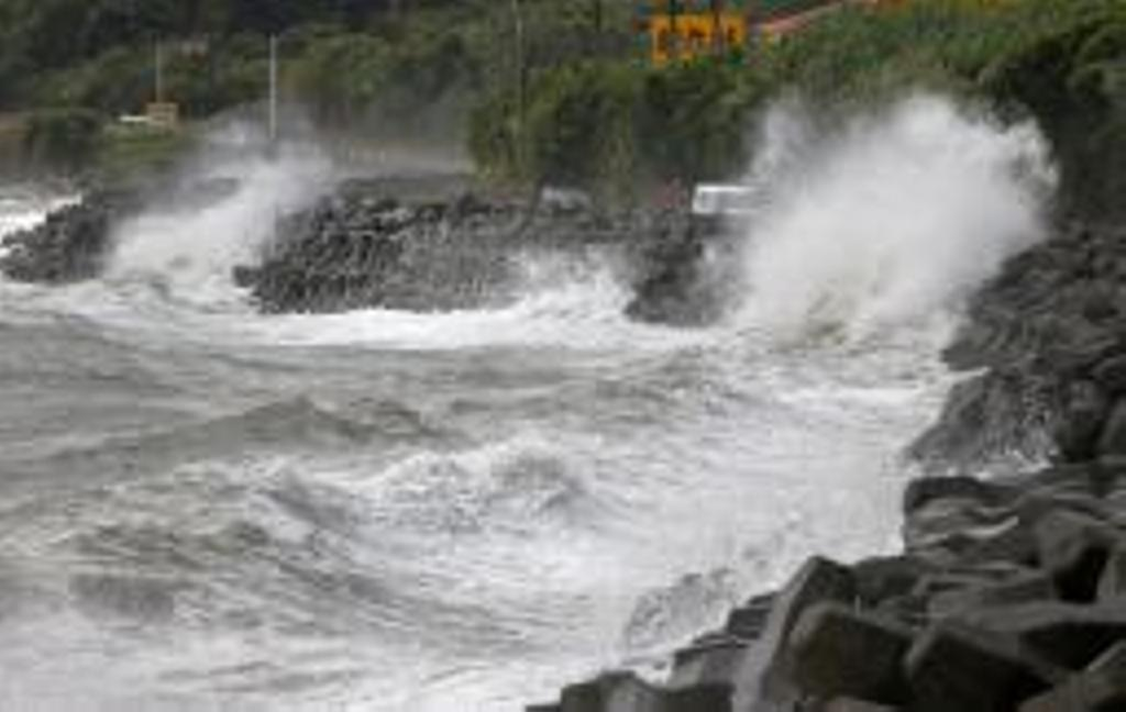 Typhoon Haishen does damage in Japan