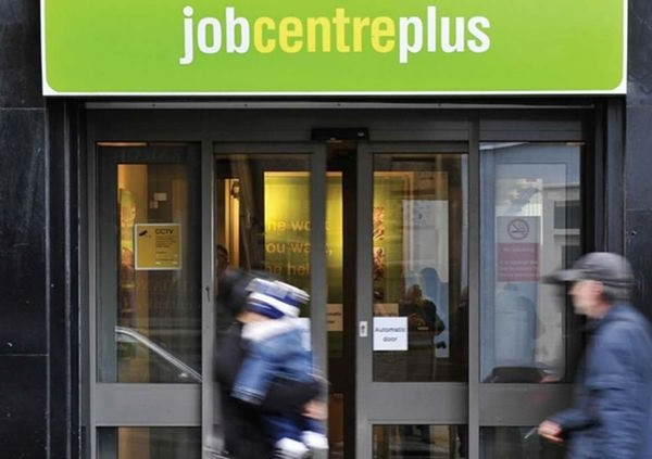 Job Centre; Second lockdown while unemployment rises; economy