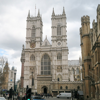 Westminster Abbey, home of every coronation since 1066