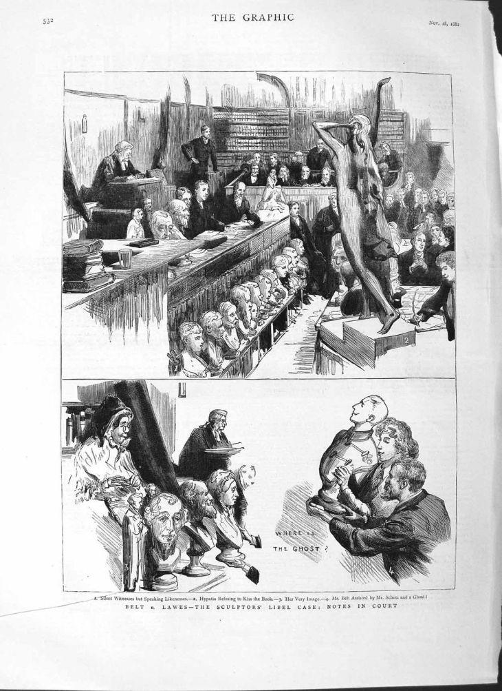 Belt v Lawes courtroom scene