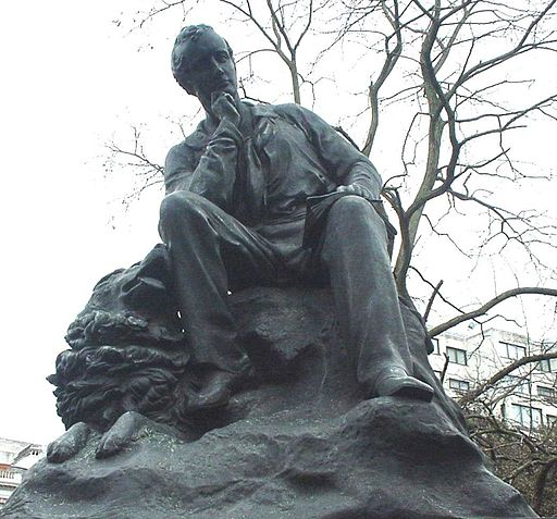 Statue of Lord Byron by Richard Belt
