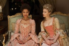 The fictional Belle (Gugu Mbatha-Raw) and her cousin (Sarah Gadon)