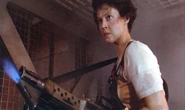 Aliens 1986 Sigourney Weaver