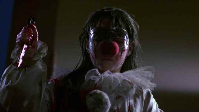 Danielle Harris as clown