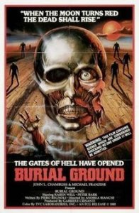 Burial Ground film poster