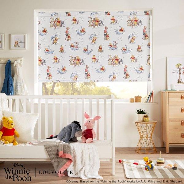 London Interior Blinds Brand Winnie Pooh Fabric