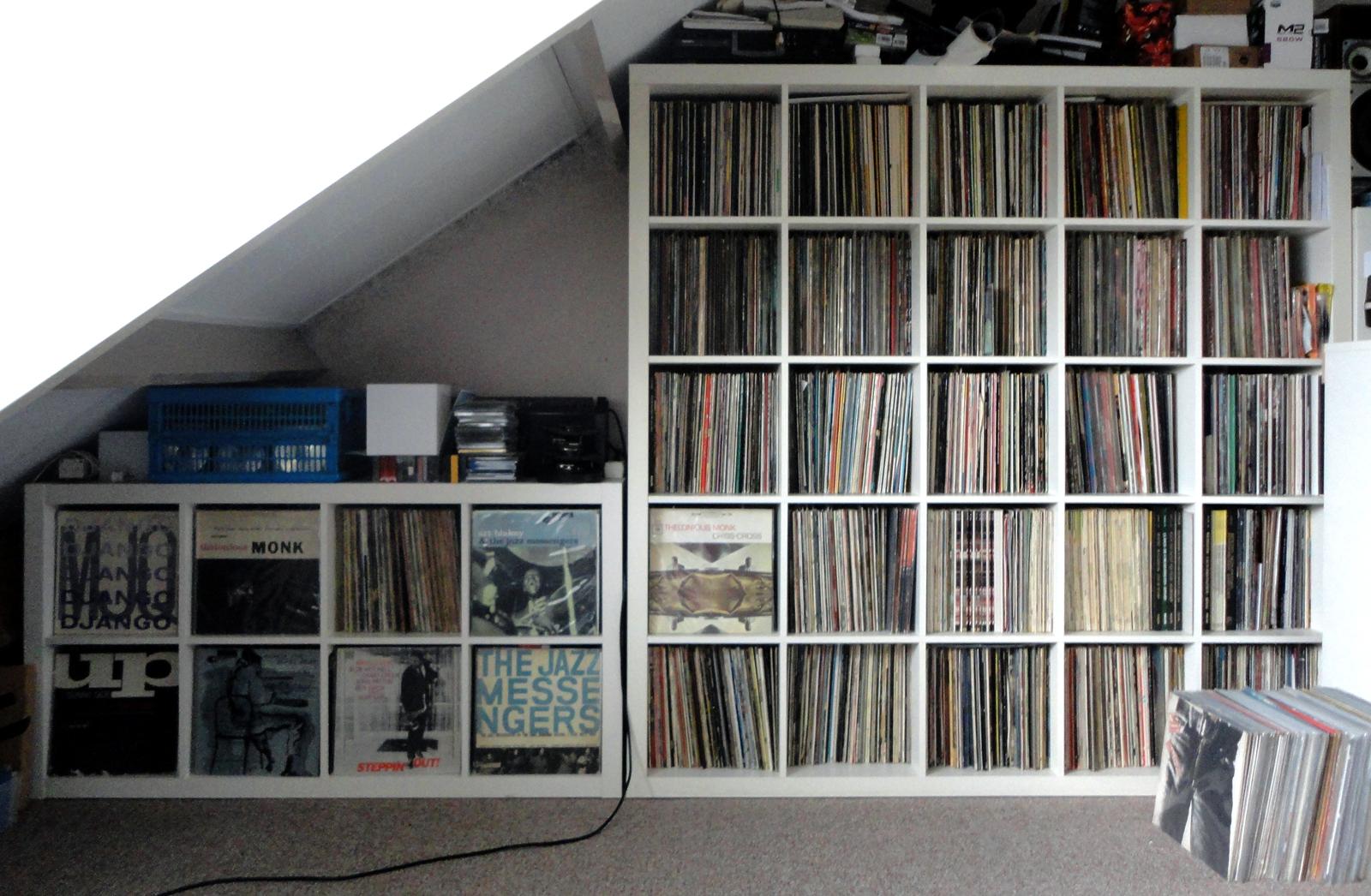 Vinyl Shelf Plans PDF Woodworking