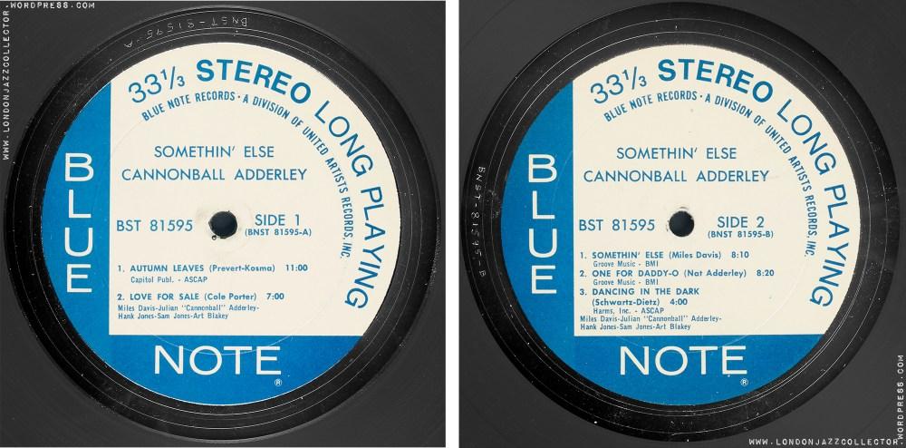 medium resolution of Cannonball Adderley: Somethin' Else – Blue Note 'Classic Vinyl Series'  (2021)   LondonJazzCollector