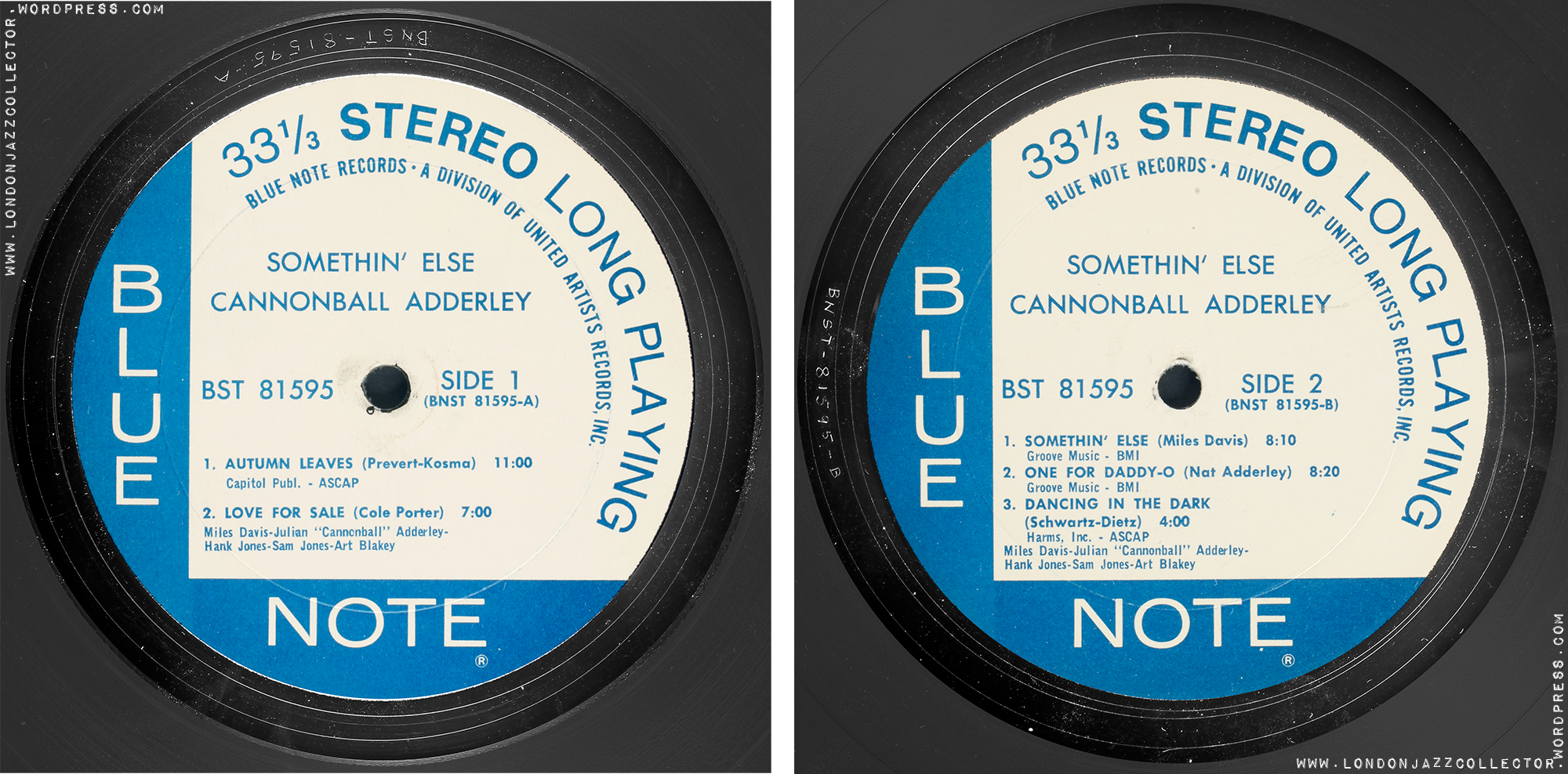 hight resolution of Cannonball Adderley: Somethin' Else – Blue Note 'Classic Vinyl Series'  (2021)   LondonJazzCollector