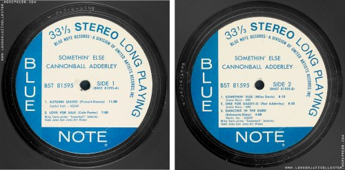 small resolution of Cannonball Adderley: Somethin' Else – Blue Note 'Classic Vinyl Series'  (2021)   LondonJazzCollector