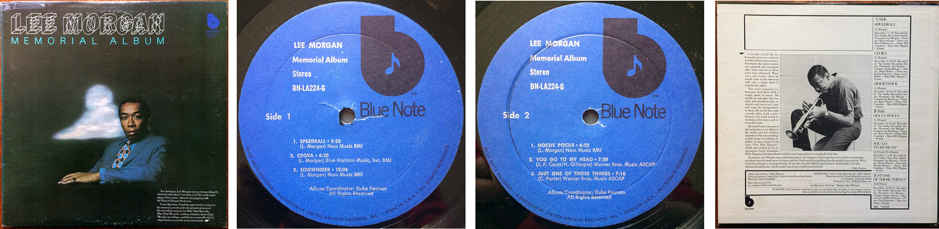hight resolution of Lee Morgan: The Rajah (1966) Blue Note TP   LondonJazzCollector
