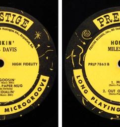 Miles Davis: Honkin' (1956) Prestige   LondonJazzCollector [ 840 x 1623 Pixel ]
