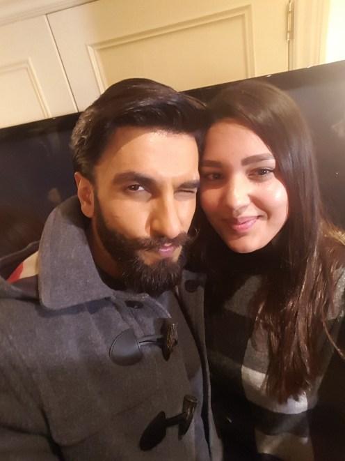 With Ranveer Singh