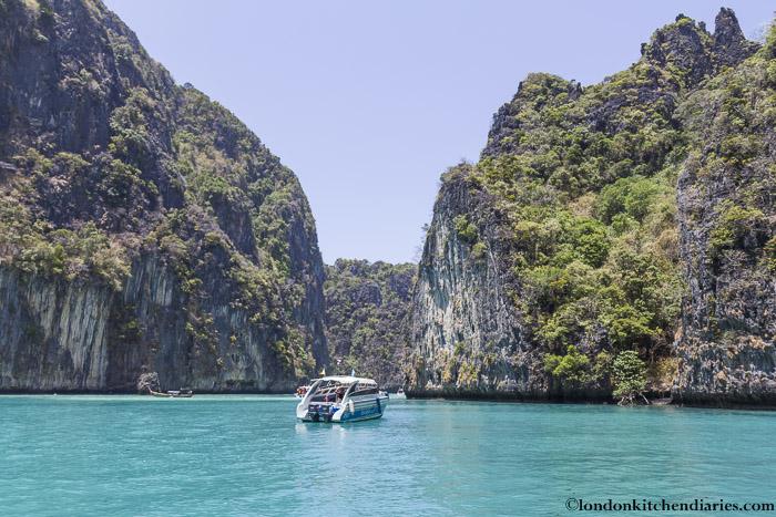Boat trip in Thailand
