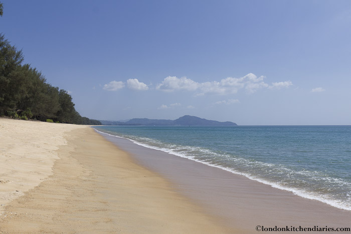 Mai Khao Beach in Thailand