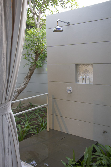 Outdoor Shower at Sala Phuket in Thailand
