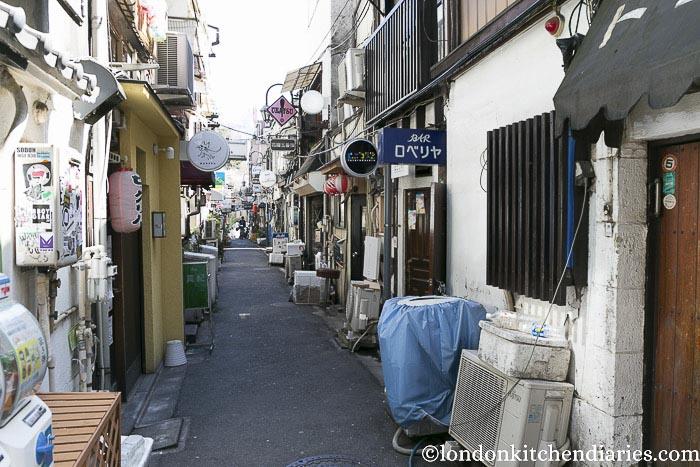 Golden Gai district tokyo