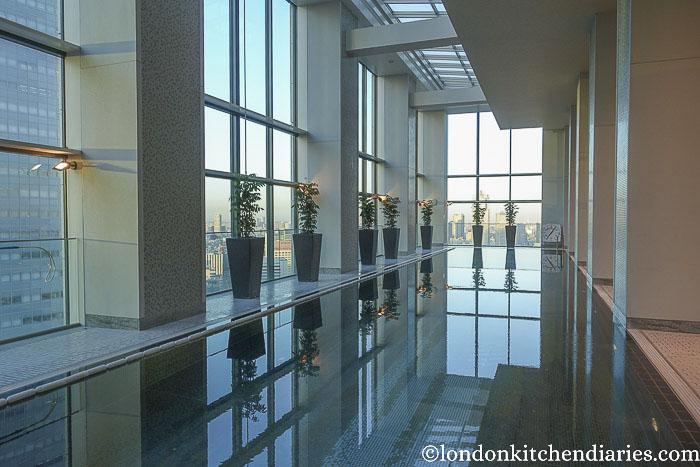 Conrad Tokyo indoor pool
