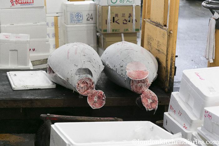 Tuna at Tsukiji Central Fish Market