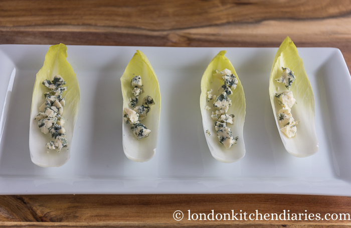 Chicory, pear & blue cheese starter-74