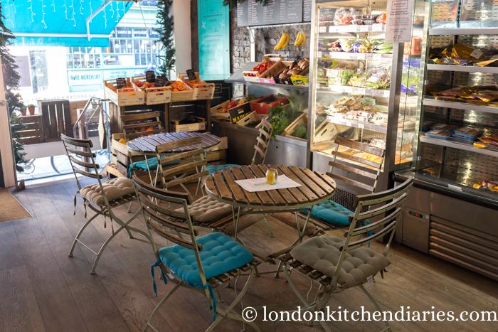 Brompton Food Market, store