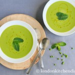 Amazingly light Pea & Mint Soup