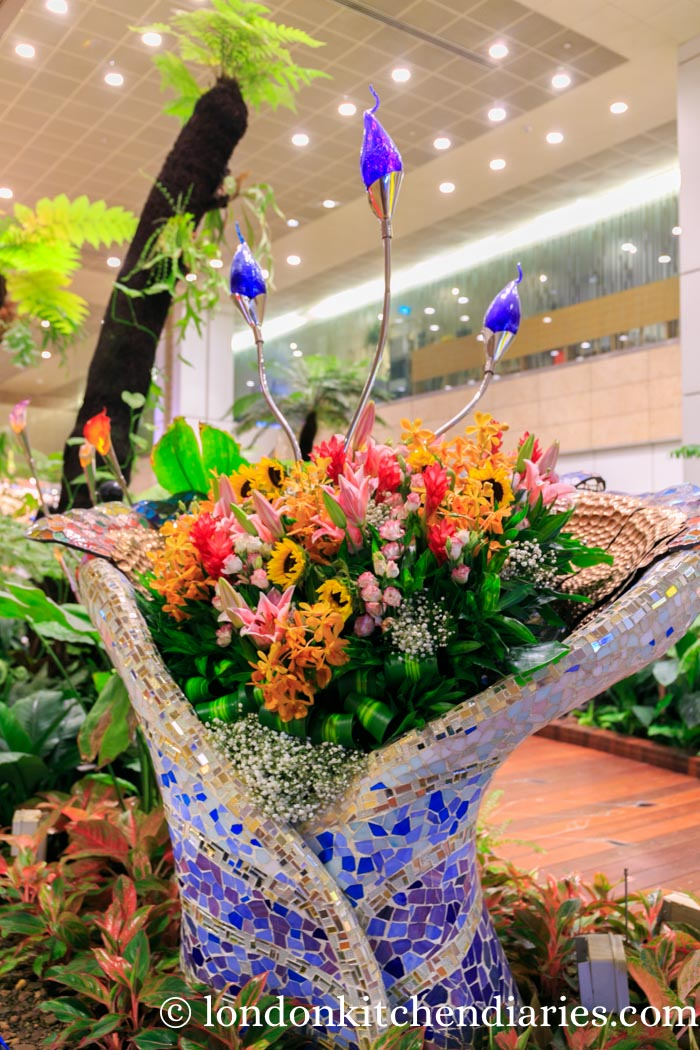 enchanted garden at changi singapore airport