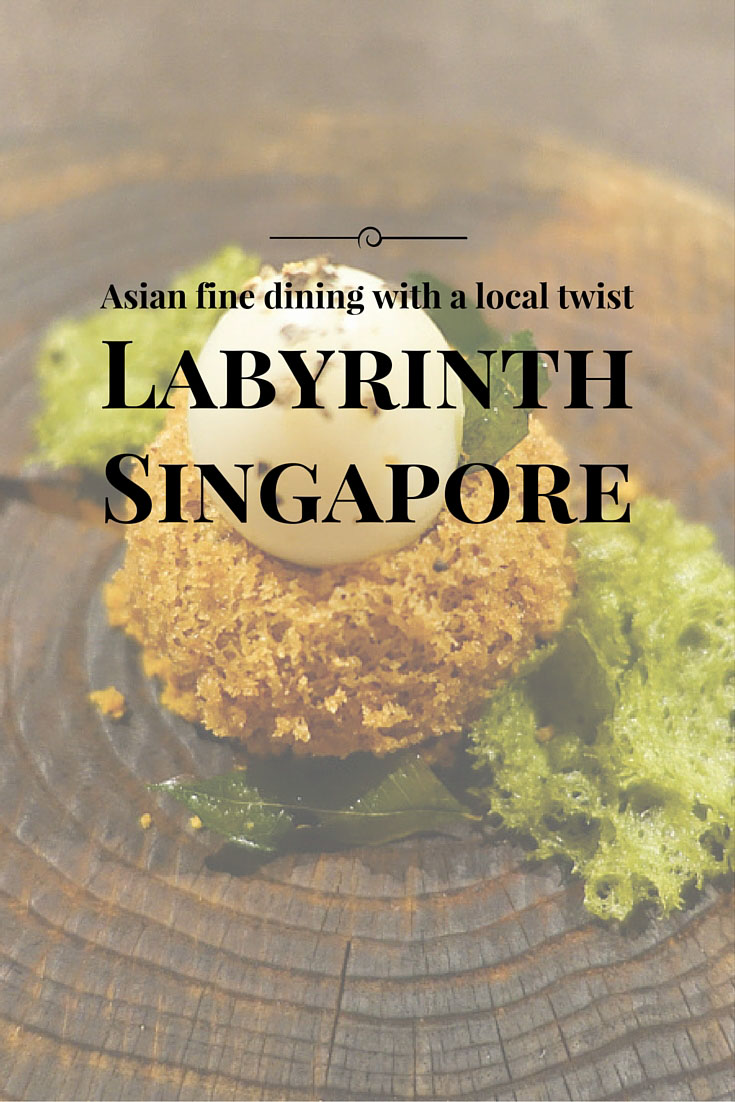Asian fine dining at Labyrinth, Singapore