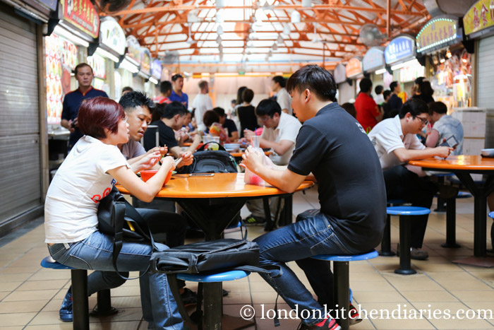 Maxwell Road Hawker centre in Singapore